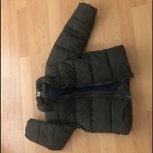 Toddler boys puffer coat